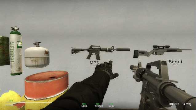 GravityFromAbove的CS:GO M4A1用于MP5