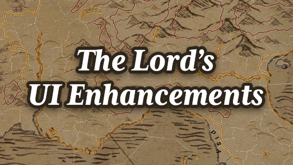 UI和地图加强  The Lord's UI Enhancements